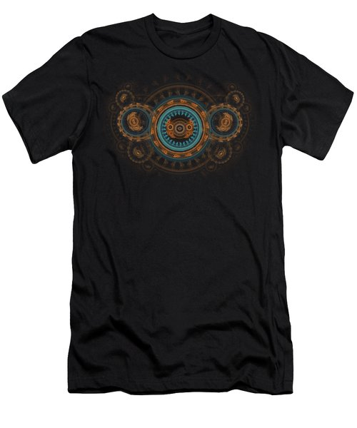 Steampunk Butterfly  Men's T-Shirt (Slim Fit) by Martin Capek