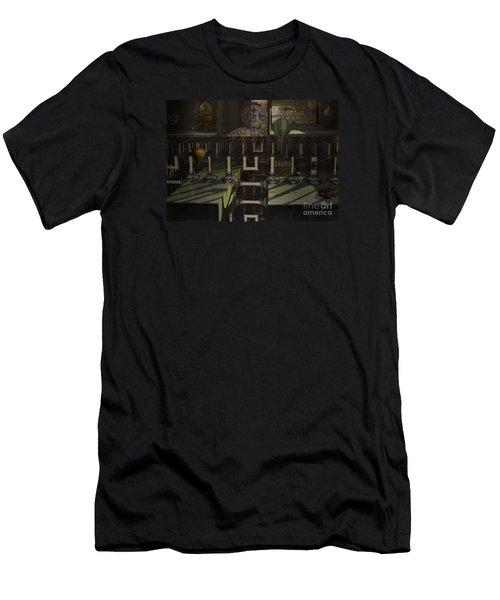 Steampunk Factory Men's T-Shirt (Athletic Fit)