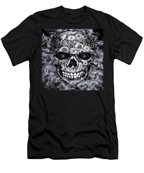 Steampunk Skull Men's T-Shirt (Athletic Fit)