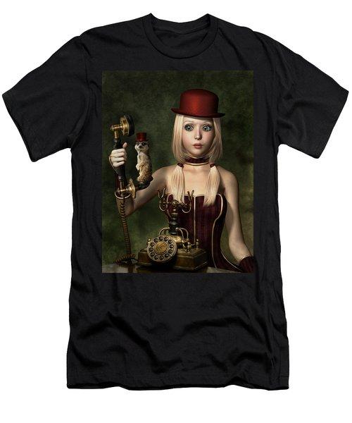 Steampunk Surprise Men's T-Shirt (Athletic Fit)