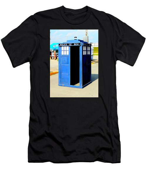 Steampunk Tardis Men's T-Shirt (Athletic Fit)