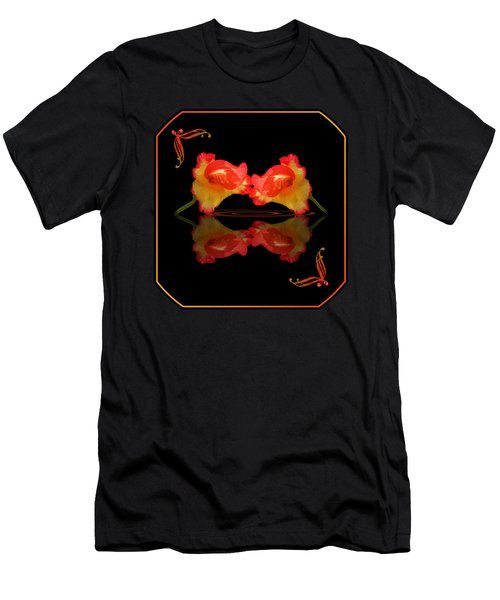 Steamy Hot Lips  Men's T-Shirt (Athletic Fit)