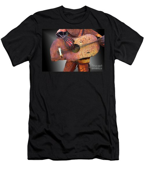 Steel Guitar - Or - Too Many Fingers And Not Enough Strings Men's T-Shirt (Athletic Fit)