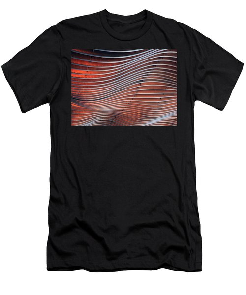 Steel Ribbons Men's T-Shirt (Athletic Fit)