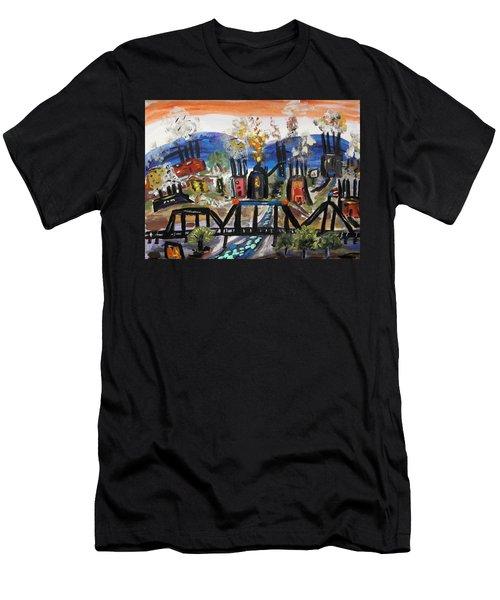 Steeltown U.s.a. Men's T-Shirt (Athletic Fit)