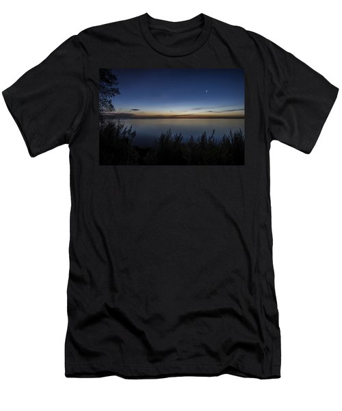 Steelworkers Park View At Dawn Men's T-Shirt (Athletic Fit)