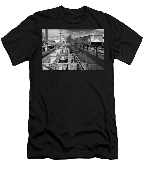 Steelyard Tracks 1 Men's T-Shirt (Athletic Fit)