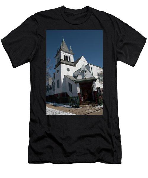 Steinwy Reformed Church Steinway Reformed Church Astoria, N.y. Men's T-Shirt (Athletic Fit)