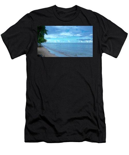 Stella Blue Men's T-Shirt (Athletic Fit)