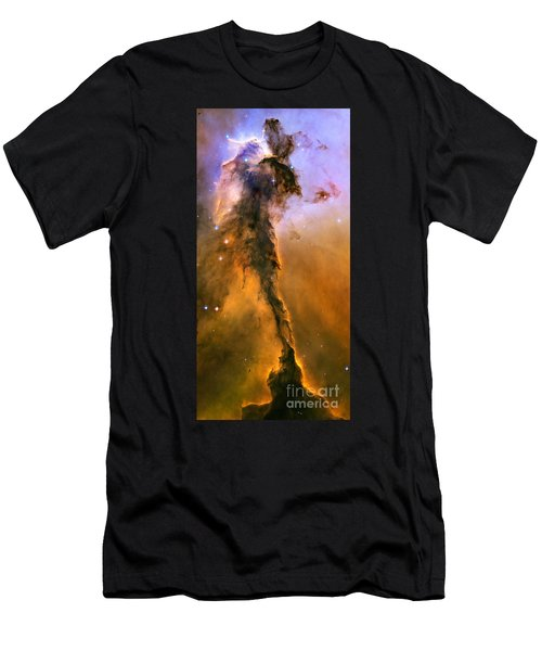 Stellar Spire In The Eagle Nebula Men's T-Shirt (Athletic Fit)