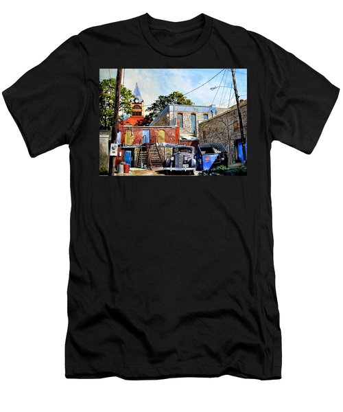 Stephenville Alley  Men's T-Shirt (Athletic Fit)