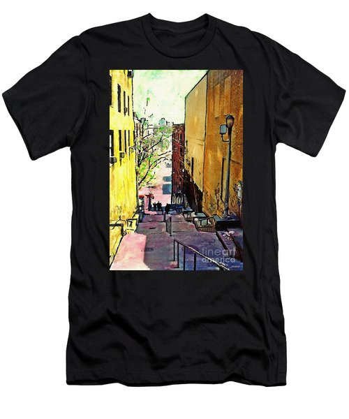 Steps At 187 Street Men's T-Shirt (Athletic Fit)