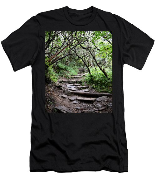 Steps Into The Enchanted Forest Men's T-Shirt (Athletic Fit)