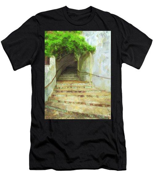 Steps To La Villita Men's T-Shirt (Athletic Fit)