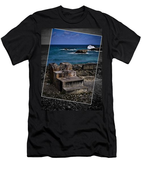 Steps To The Ocean2 Men's T-Shirt (Athletic Fit)
