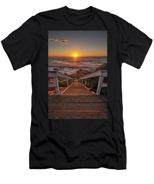 Steps To The Sun  Men's T-Shirt (Athletic Fit)