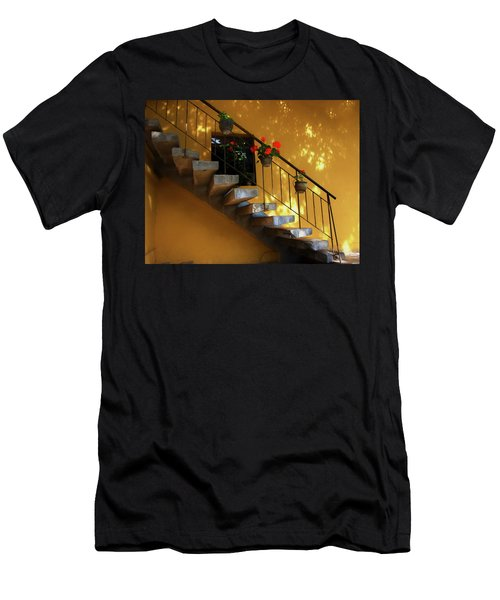 Steps To Tranquility  Men's T-Shirt (Athletic Fit)