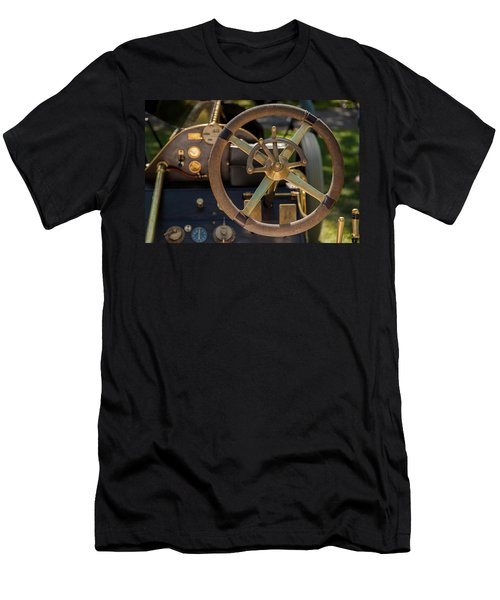 Steering Wheel 1909 Alco Black Beast Men's T-Shirt (Athletic Fit)