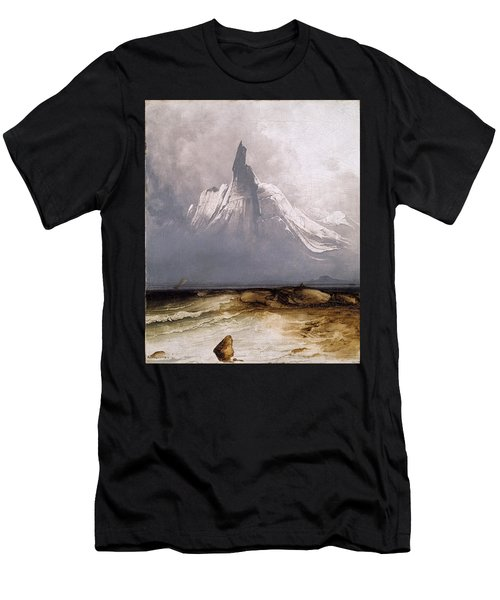 Stetind In Fog Men's T-Shirt (Athletic Fit)