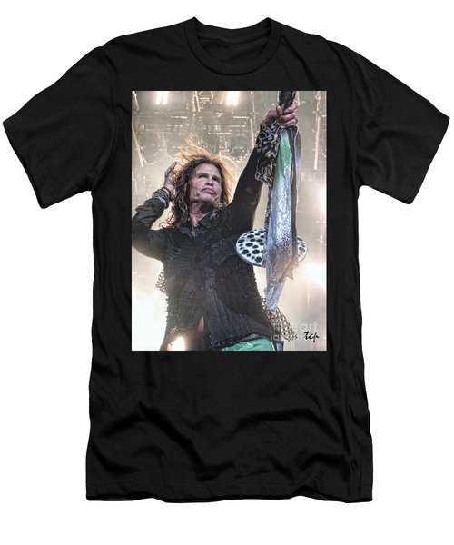 Men's T-Shirt (Slim Fit) featuring the photograph Steven Gives by Traci Cottingham
