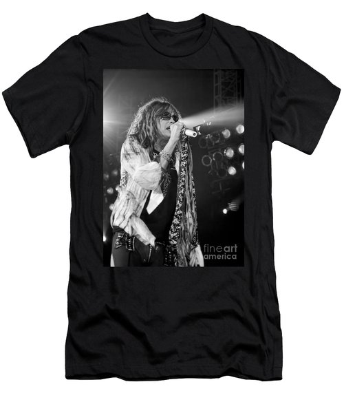 Steven Tyler In Concert Men's T-Shirt (Athletic Fit)