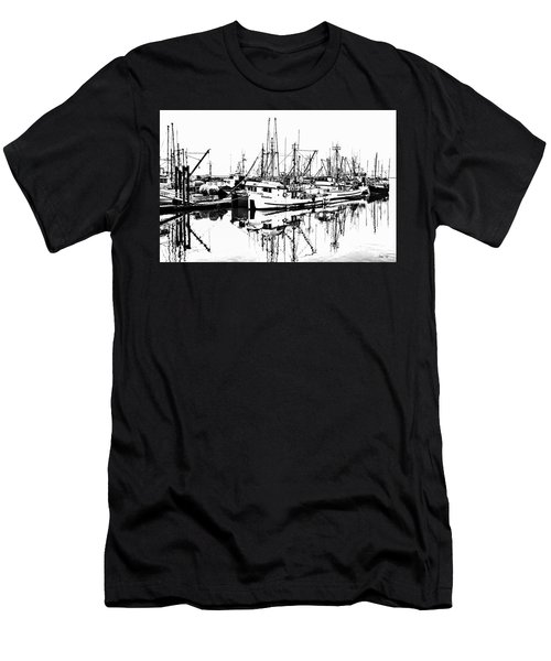 Steveston Harbor Men's T-Shirt (Athletic Fit)
