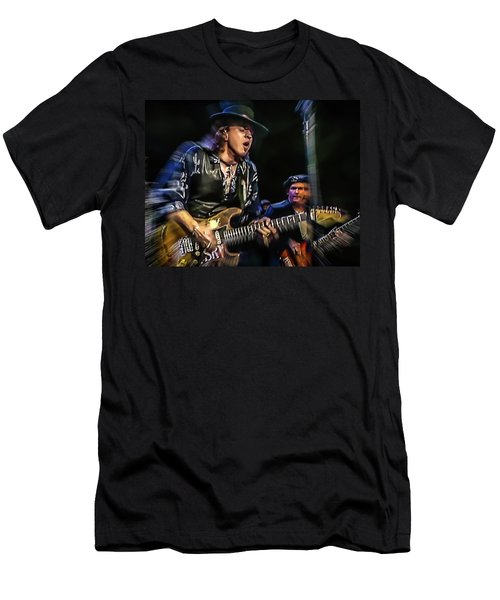 Stevie Ray Vaughan - Couldn't Stand The Weather Men's T-Shirt (Athletic Fit)