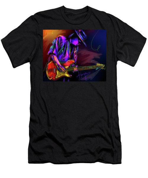 Stevie Ray Vaughan Men's T-Shirt (Slim Fit) by DC Langer
