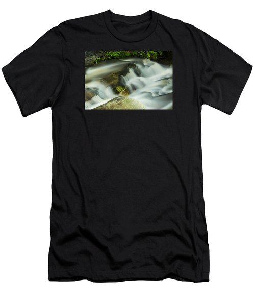 Stickney Brook Flowing Men's T-Shirt (Slim Fit) by Tom Singleton
