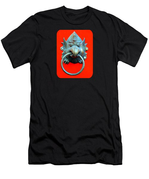 Sticky Beak Men's T-Shirt (Slim Fit) by Ethna Gillespie