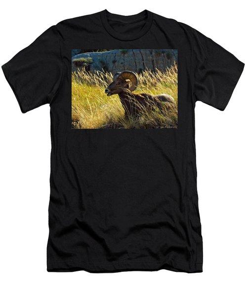 Still As A Statue Men's T-Shirt (Athletic Fit)