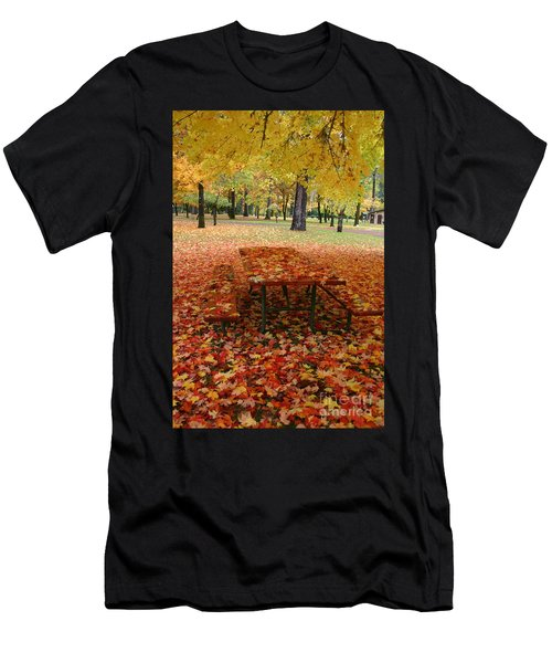 Still Fall Men's T-Shirt (Athletic Fit)