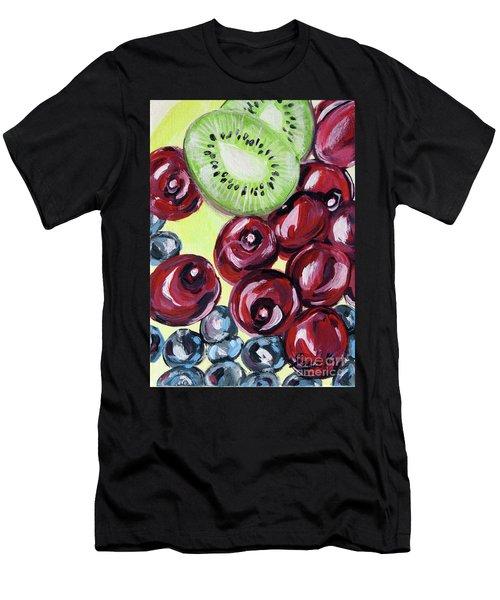 Still Life 130. Cherries Men's T-Shirt (Athletic Fit)