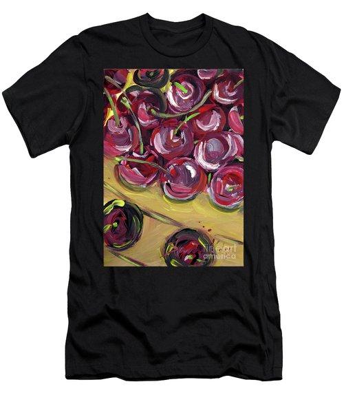 Still Life 135. Cherries Men's T-Shirt (Athletic Fit)