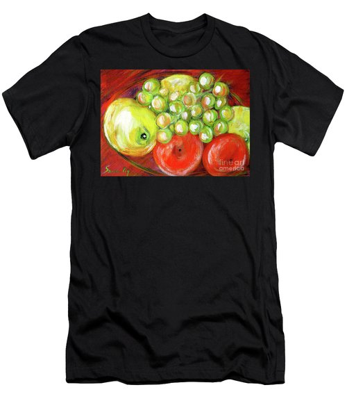 Still Life With Fruit. Painting Men's T-Shirt (Athletic Fit)