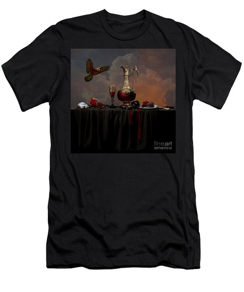 Still Life With Pomegranate Men's T-Shirt (Athletic Fit)