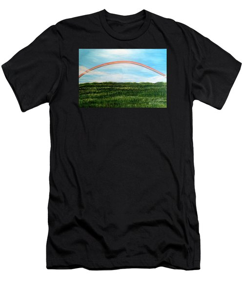 Still Searching For Somewhere Over The Rainbow? Men's T-Shirt (Athletic Fit)