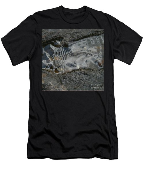 Still Stream Skeleton Screams Men's T-Shirt (Athletic Fit)