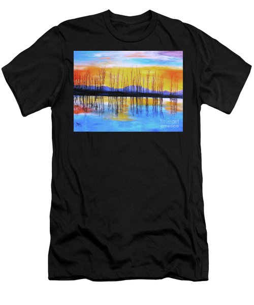 Still Waters From The Water Series  Men's T-Shirt (Athletic Fit)