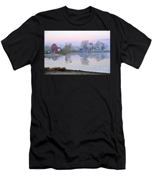Still Waters On Stoneledge Lake Men's T-Shirt (Athletic Fit)