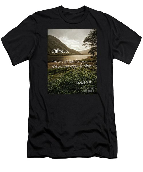 Men's T-Shirt (Athletic Fit) featuring the photograph Stillness by Beauty For God