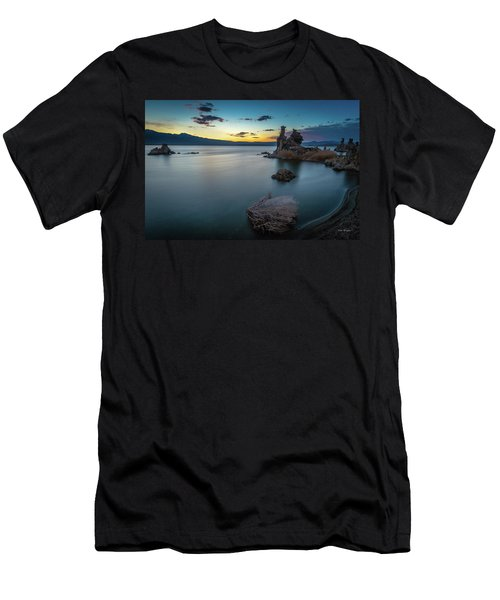 Men's T-Shirt (Athletic Fit) featuring the photograph Stillness...mono Lake by Tim Bryan