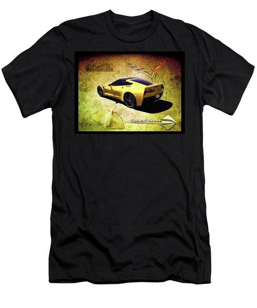 Stingray Men's T-Shirt (Slim Fit) by Michael Cleere