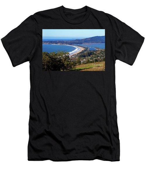 Stinson Beach  Men's T-Shirt (Athletic Fit)