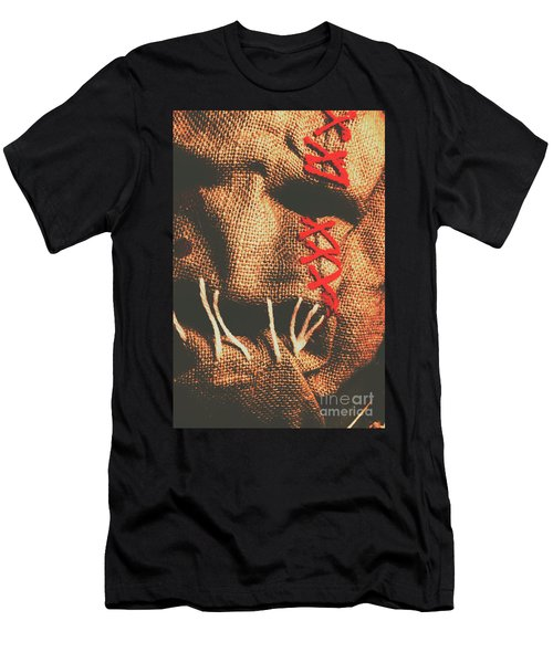 Stitched Up Madness Men's T-Shirt (Athletic Fit)