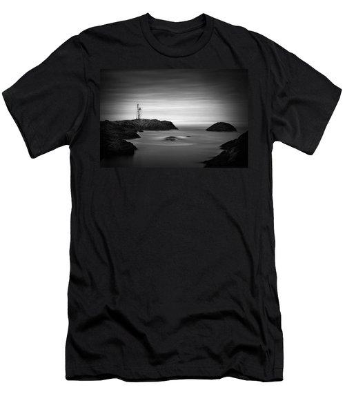 Stokksnes Lighthouse Men's T-Shirt (Athletic Fit)