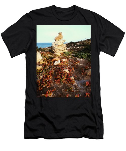 Stone Balance Men's T-Shirt (Athletic Fit)
