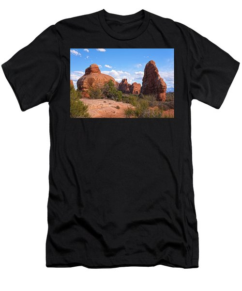 Stone Gods 0f Arches Men's T-Shirt (Athletic Fit)