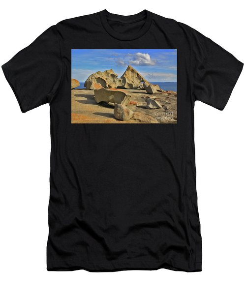 Stone Sculpture Men's T-Shirt (Athletic Fit)