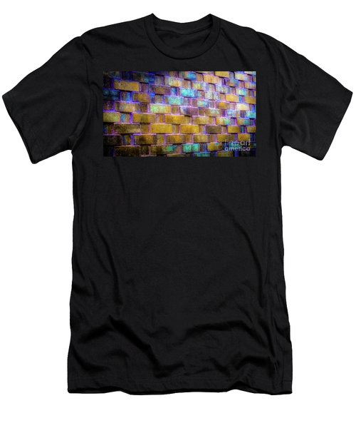 Brick Wall In Abstract 499 Men's T-Shirt (Athletic Fit)